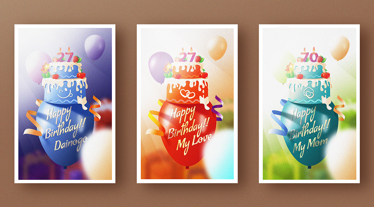 Superb Happy Birthday Card Tutorial Free Download On Pantone Canvas Gallery Funny Birthday Cards Online Fluifree Goldxyz