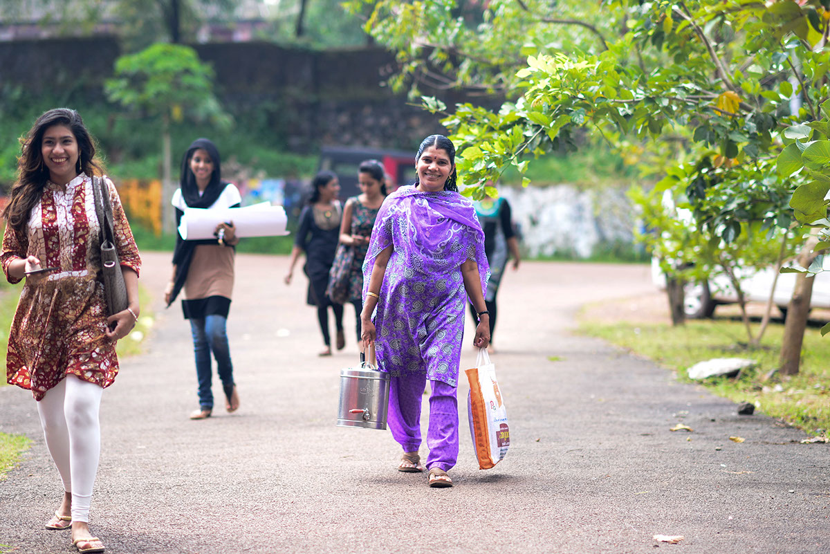 Photo Essay: The Unsung Hero of NIFT Kannur on Behance