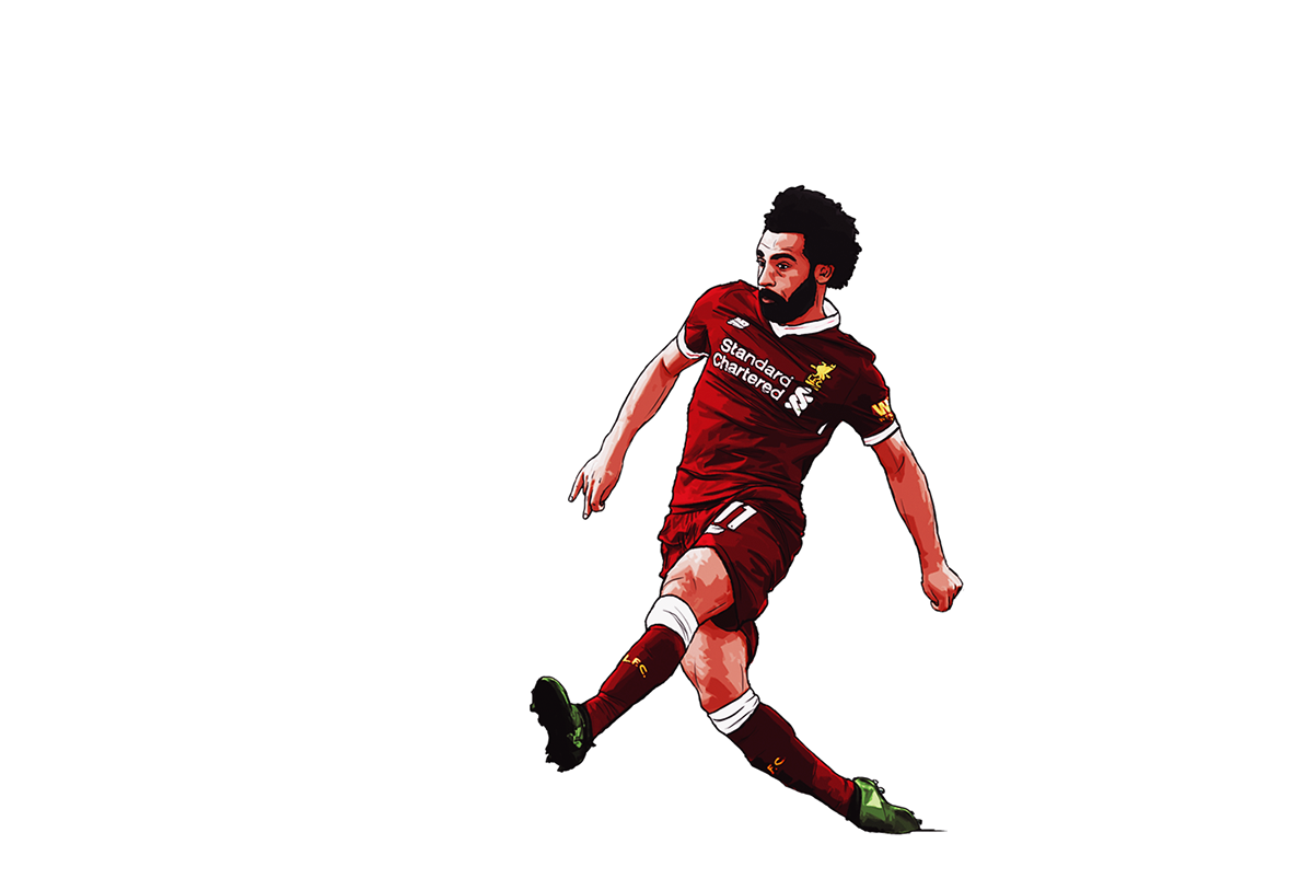 dbead1990 Mohamed Salah Premier League Player of the Season 2017 18