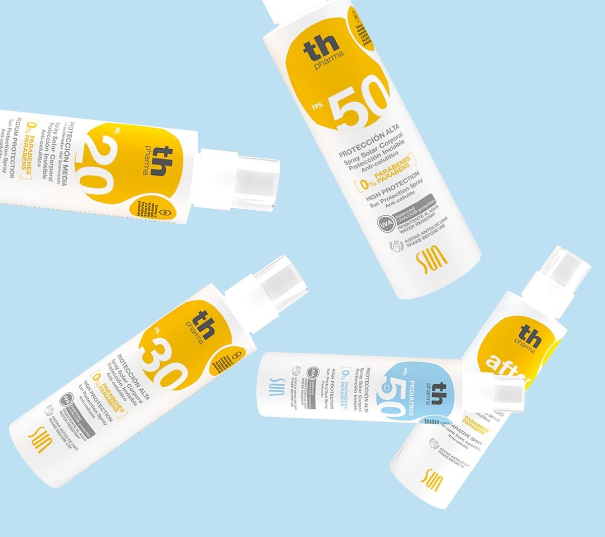 Sun beach pharmacy spray Cosmetic Pharma spain water protection Pediatric parabéns children