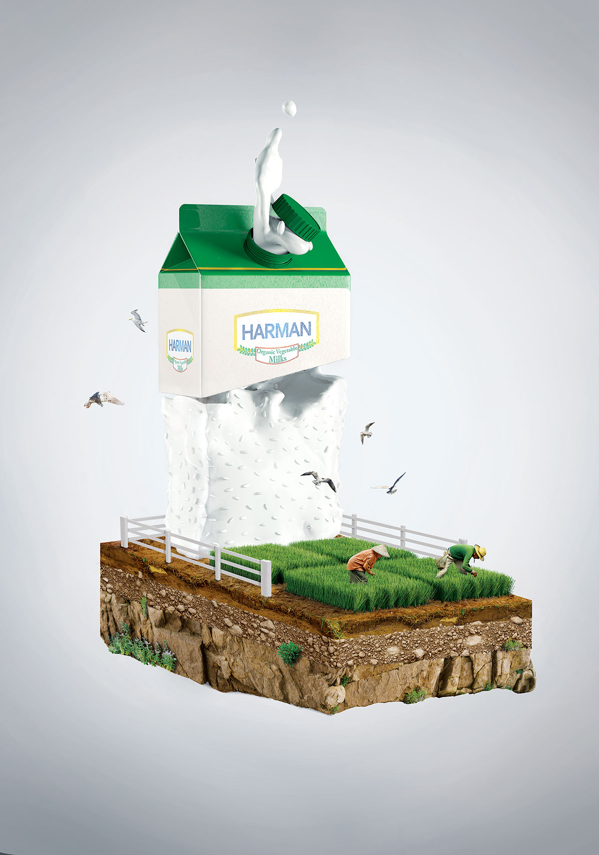 HARMAN /Organik Prinç Sütü