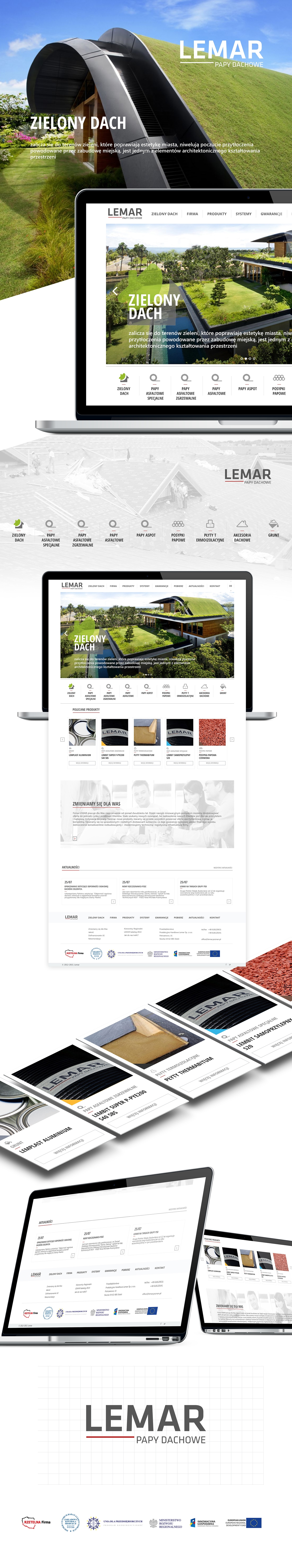 Webdesign Product Exposition