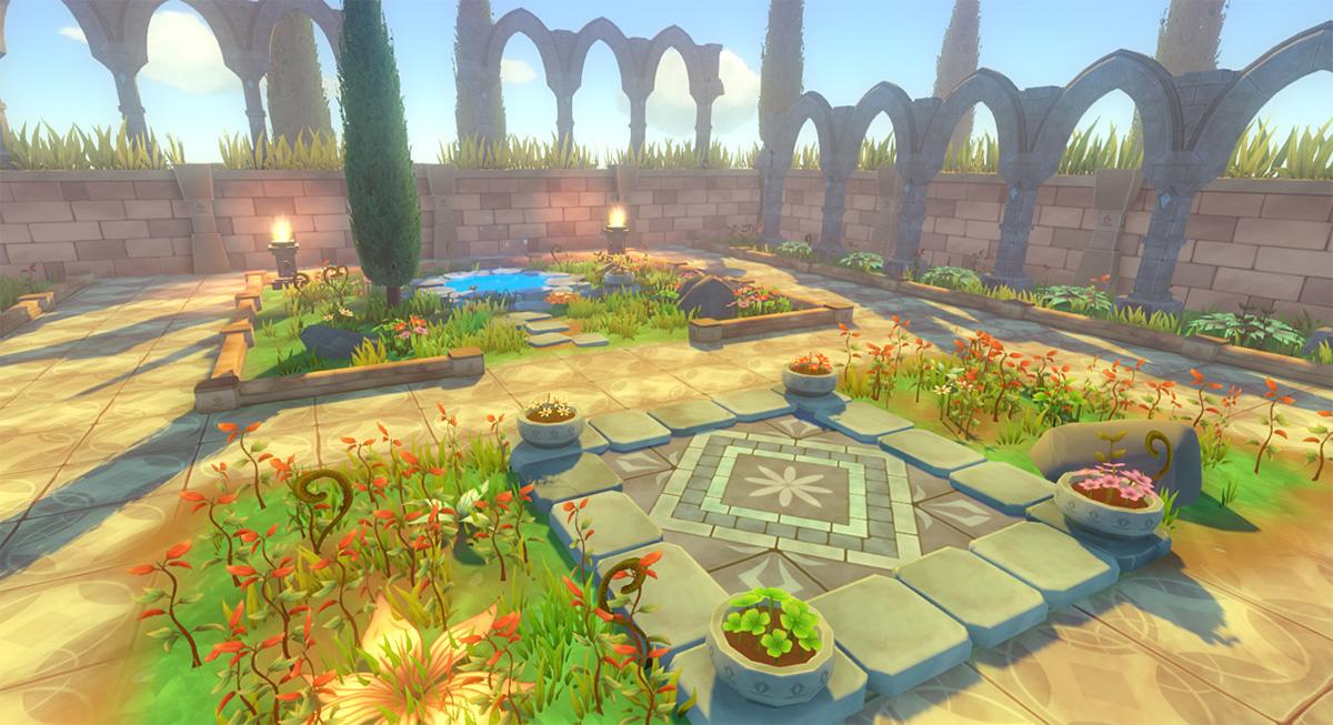 Toon Garden Game Props on Behance