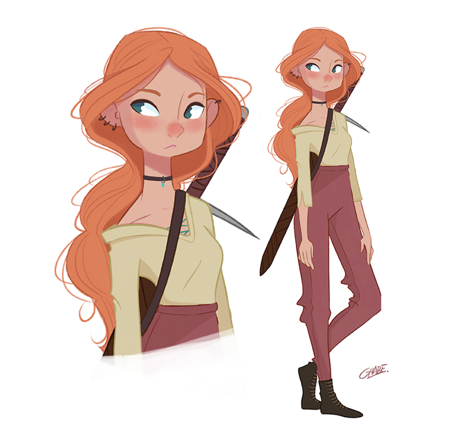 Character Design Challenge Tumblr : Character design parti i on behance