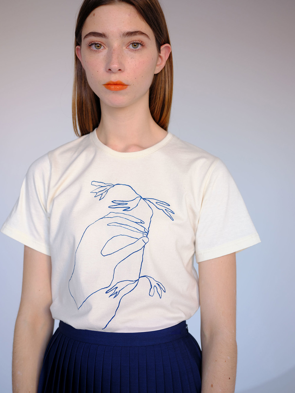 ILLUSTRATION  Fashion  Riso print Betina Lou Montreal clothes brand feminine design