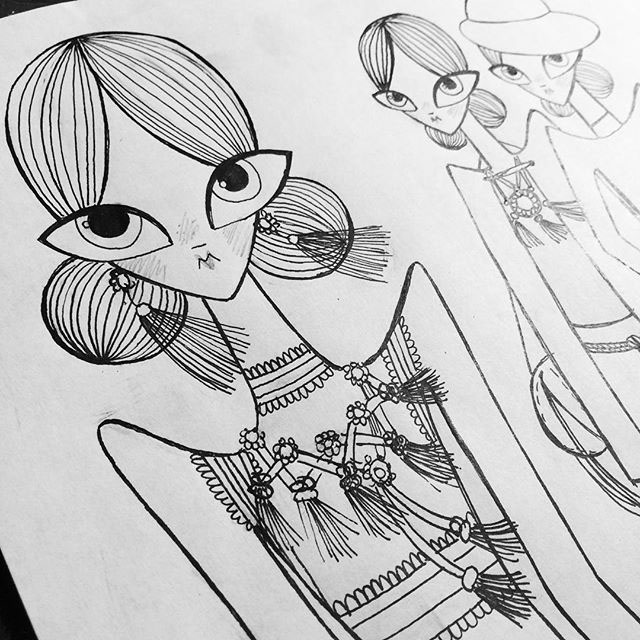 LANVIN fashionillustration georginachavez mexico art