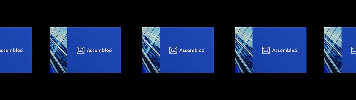 auditorium branding  business company digital geometric identity logo meeting Web