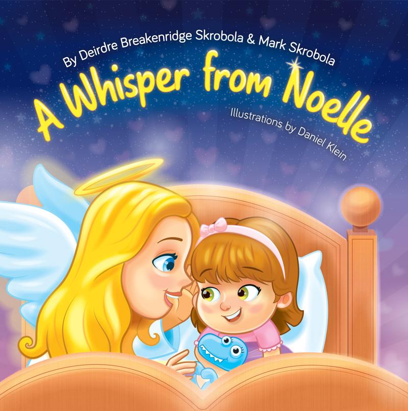 angel bed book children colorful dream feel girl kidlit