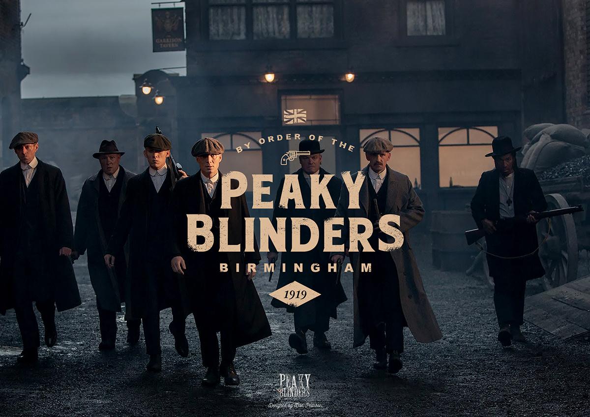 Peaky Blinders Vintage Poster on Behance