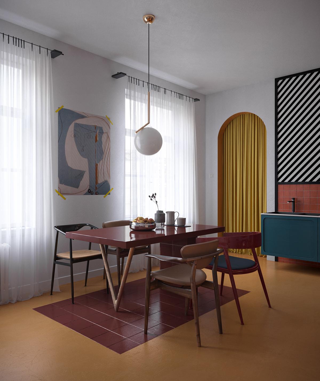 Apartment Dining Room Design