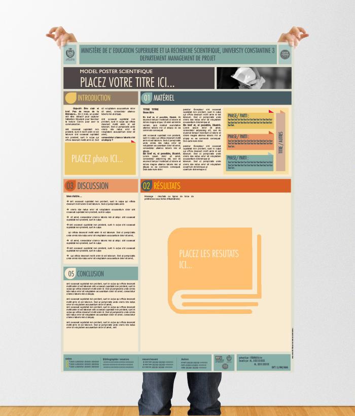 Le Poster Scientifique A0 Powerpoint Templates On Behance