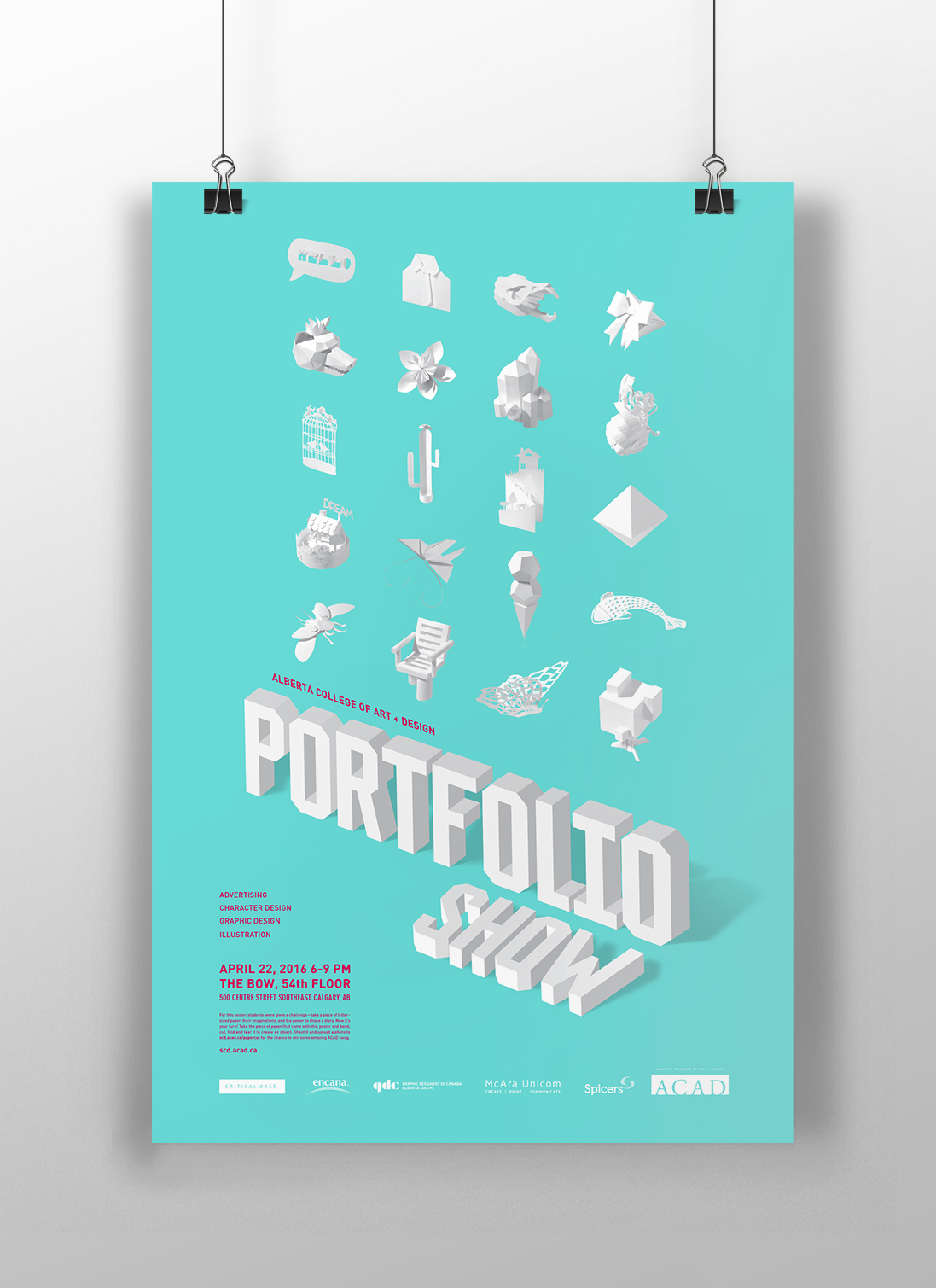 Poster design portfolio - Play Video