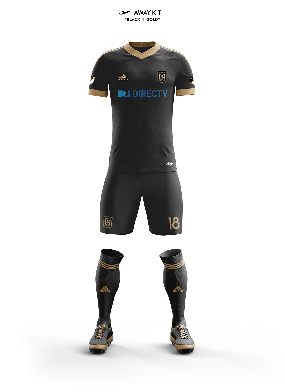 los angeles football club concept kits on behance