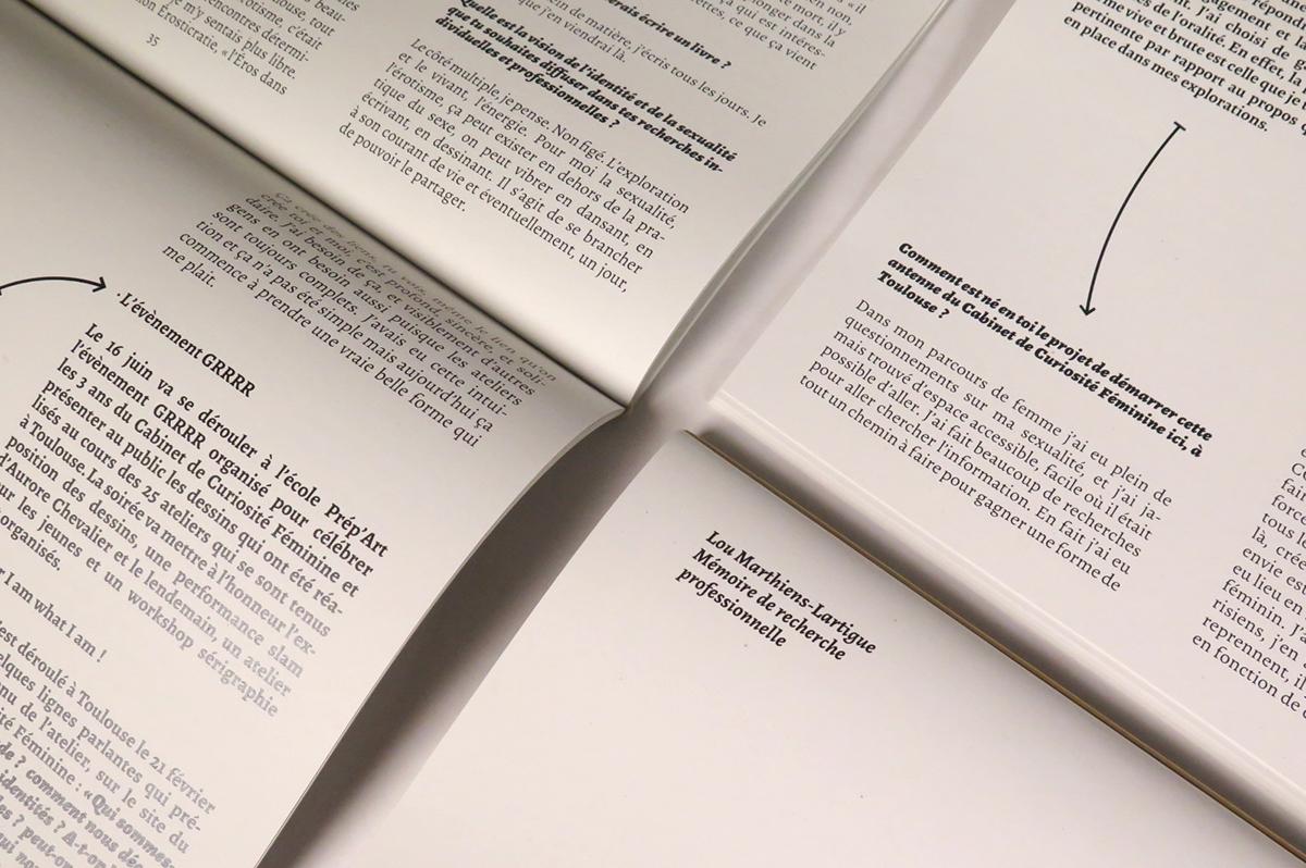 writing  editorial design  feminism Spreading voices