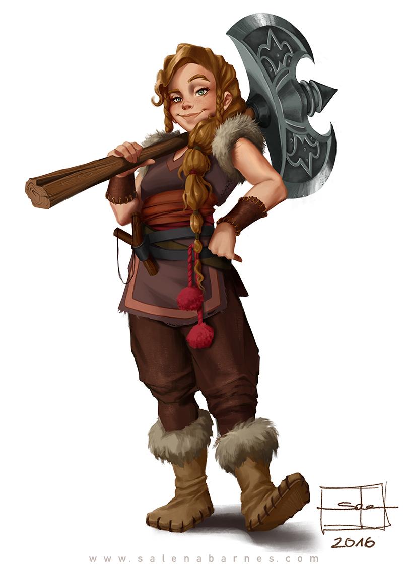 vikings character design on behance