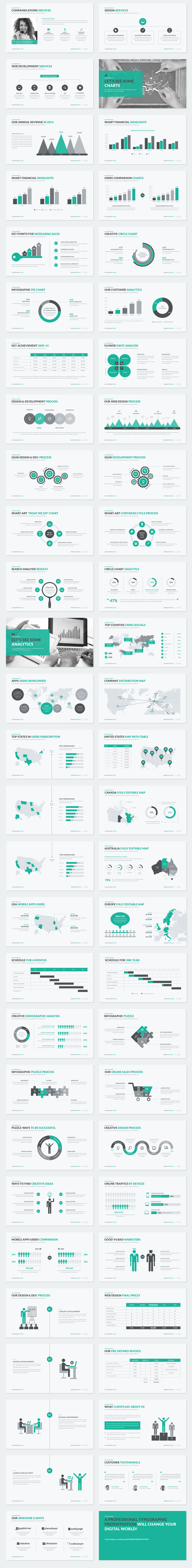 Business proposal powerpoint template on behance business proposal powerpoint template is a clean simple and unique business presentation it contains a lot of handmade diagrams graphs infographics and toneelgroepblik Choice Image