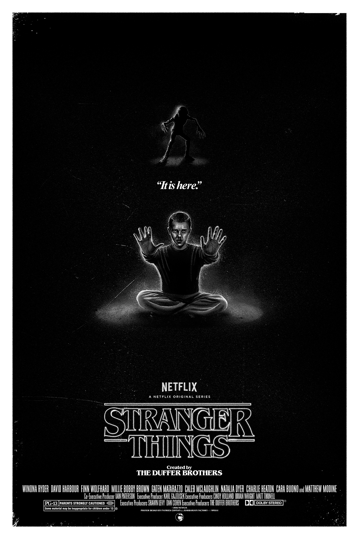 Quot It Is Here Quot A Stranger Things Tribute On Behance