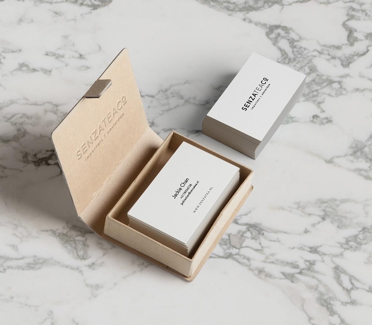 Tea Packaging senza tea company nadine froughi