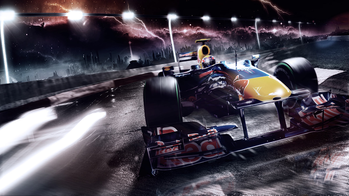 formula one race styleframe sports f1 speed engine elements