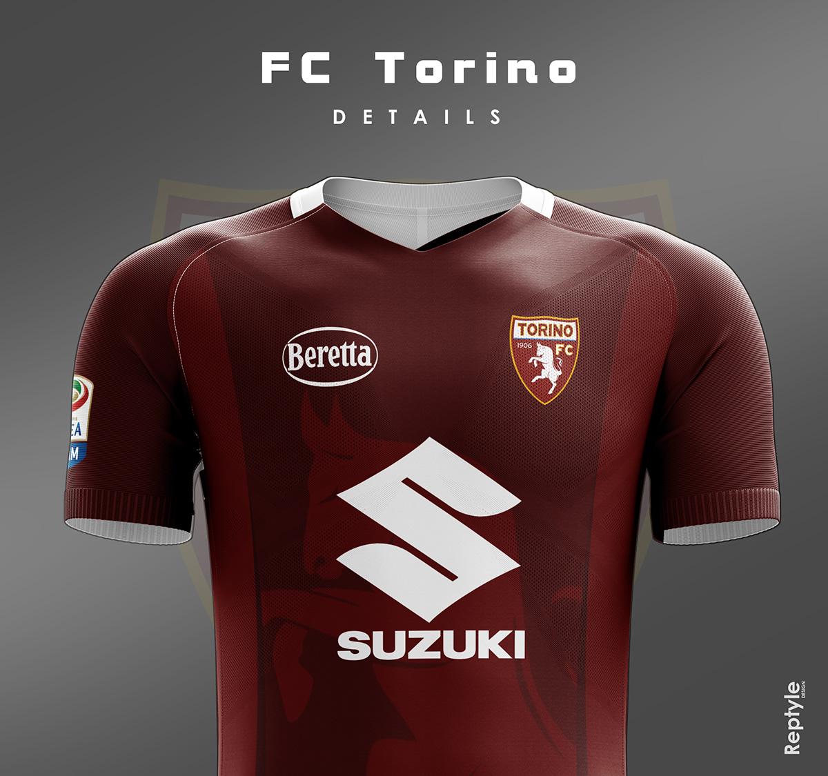 FC Torino soccer kit concept on Behance 25de069b4