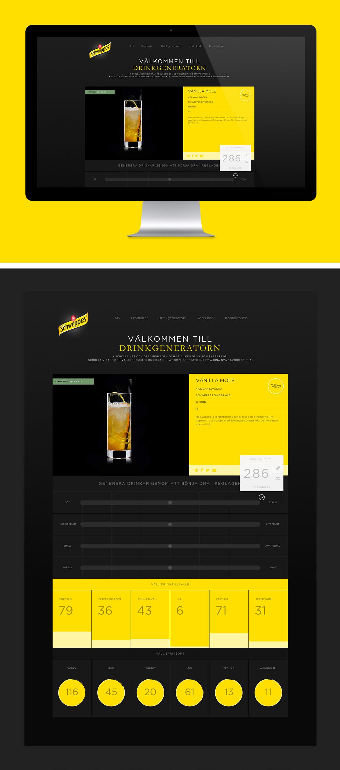 sophie-dennerby-schweppes-retusch-webbdesign