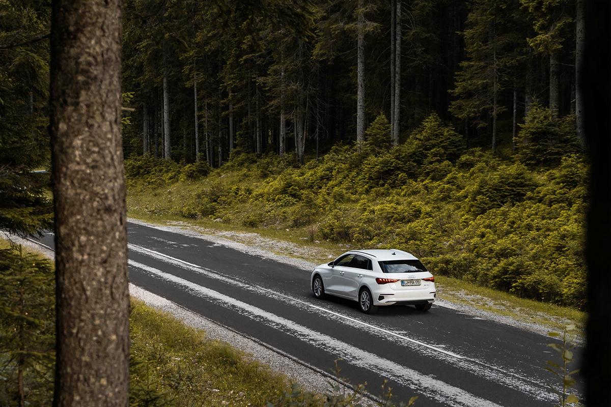 a3 Audi Audi A3 audide Pokljuka slovenia Sportback Audi a3 2020 Audi A3 Sportback car photography