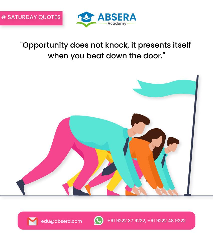AbseraAcademy BestSoftwareTraining inspirationalquotes quotesoftheday SaturdayThoughts SoftwareCourses training