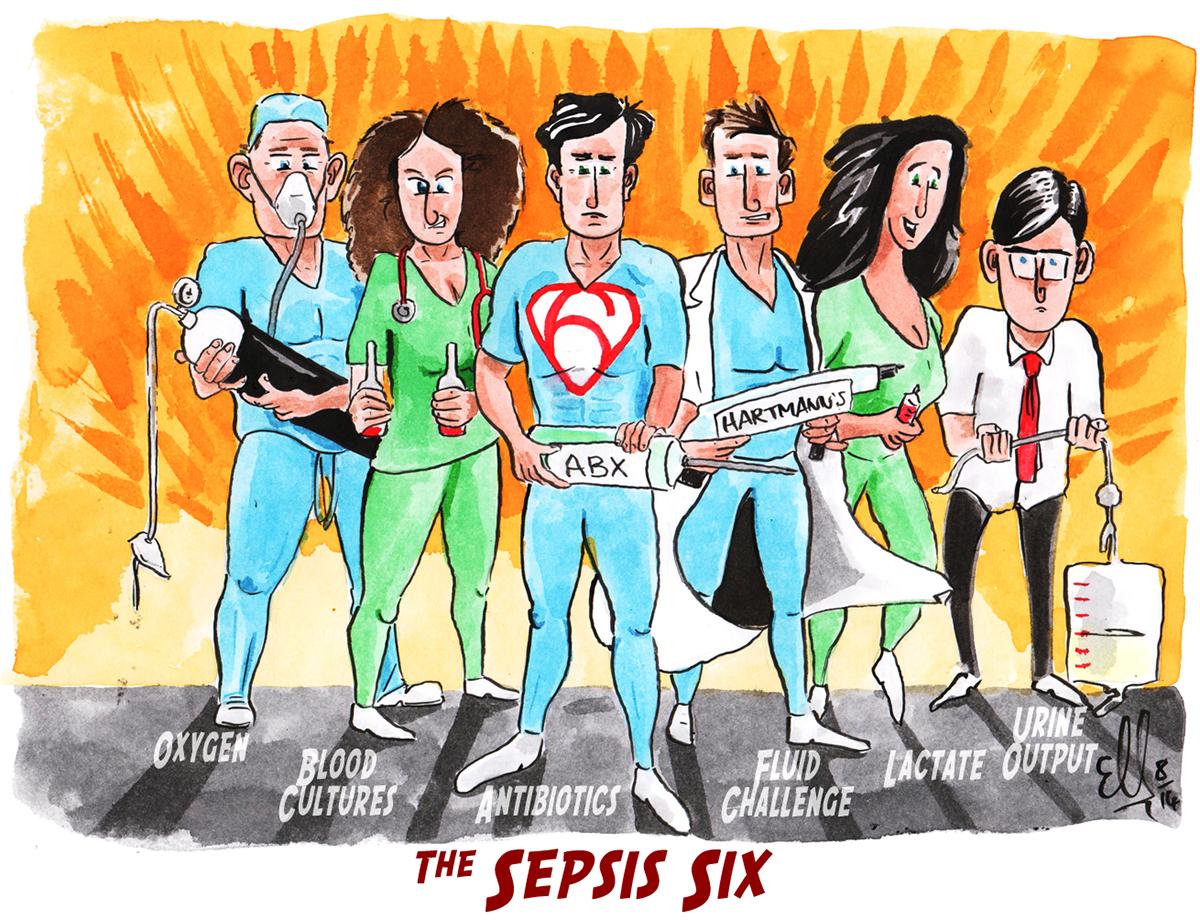 sepsis six ile ilgili görsel sonucu