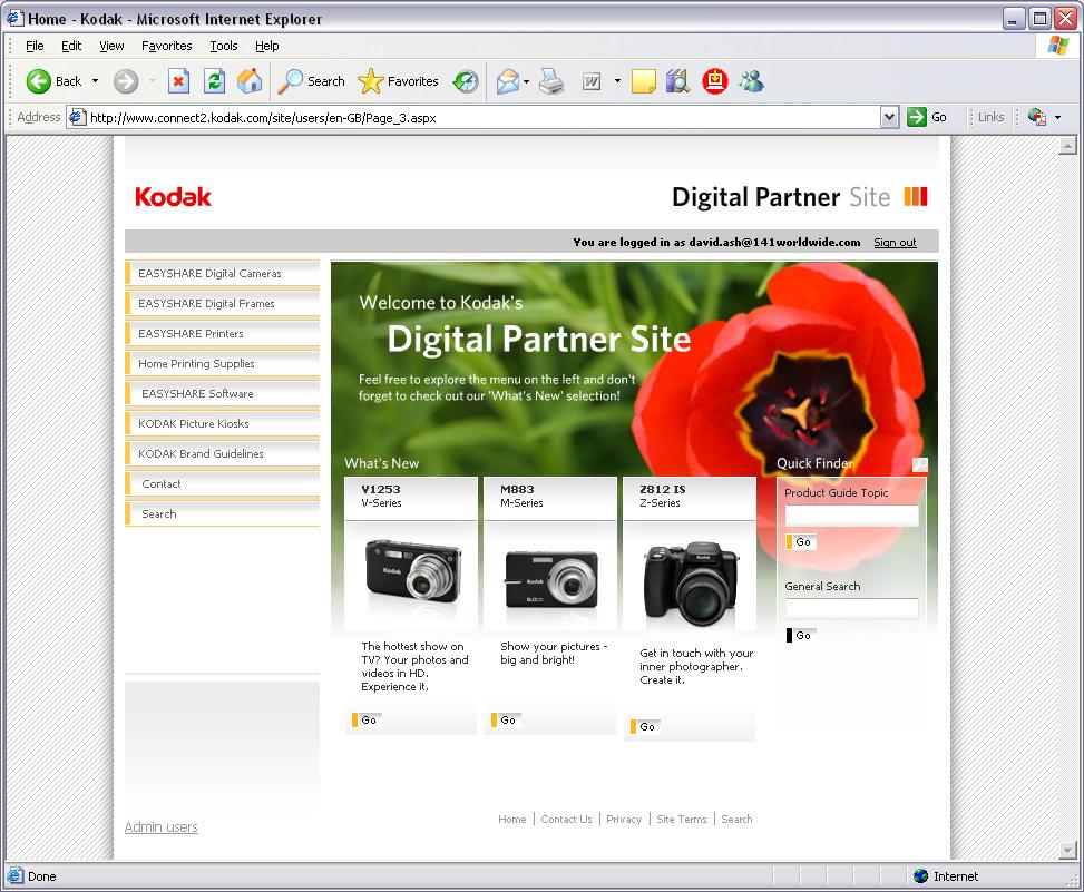 Fiona Hart - Kodak Digital Partner Site