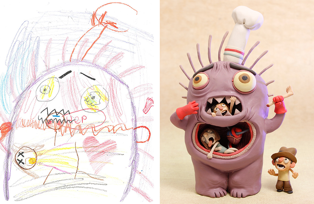 the monster project Austin texas atx creatures beasts Cartoons monster spooky Scary cute kids art