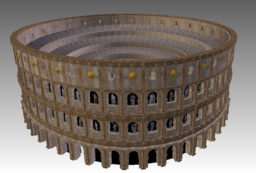"an analysis of the roman colosseum major influence on many buildings and structures through out our  The manipulation of ""space"" in roman architecture also shows through in the arts as are many other buildings and which have survived through to our."