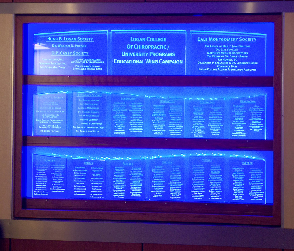 Donor Recognition Wall on Behance