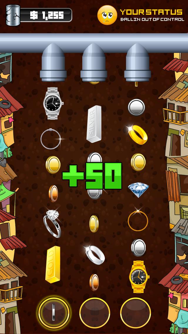 mobile game Mobile UI Money Crush iOS UI design