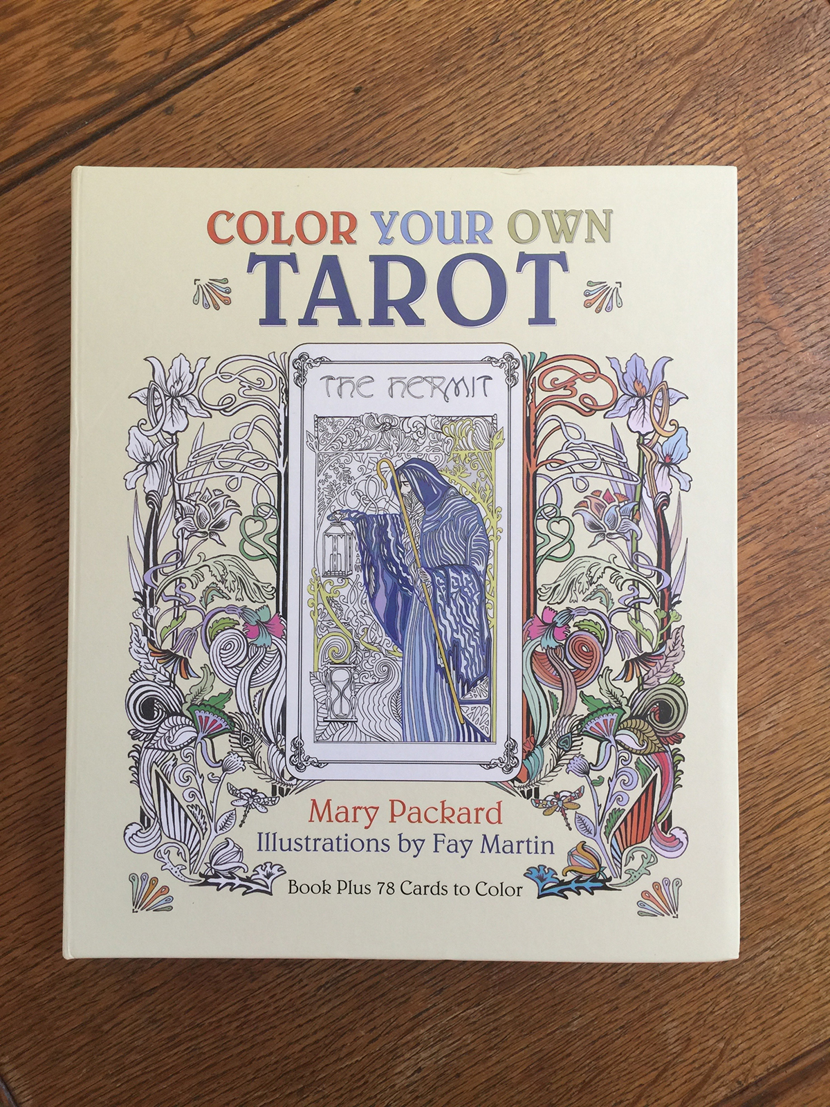 Color Your Own Tarot | Book Case, Book and Tarot Cards on Behance