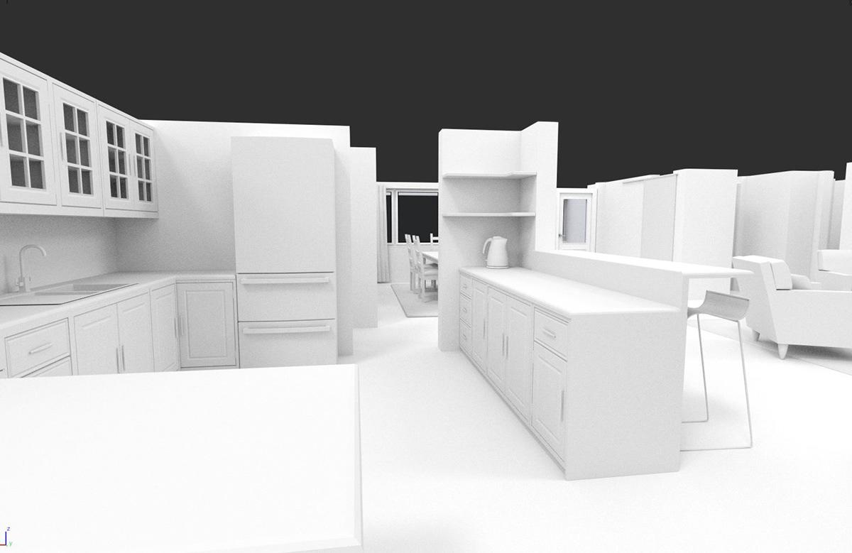 House Exercise In Blender On Wacom Gallery