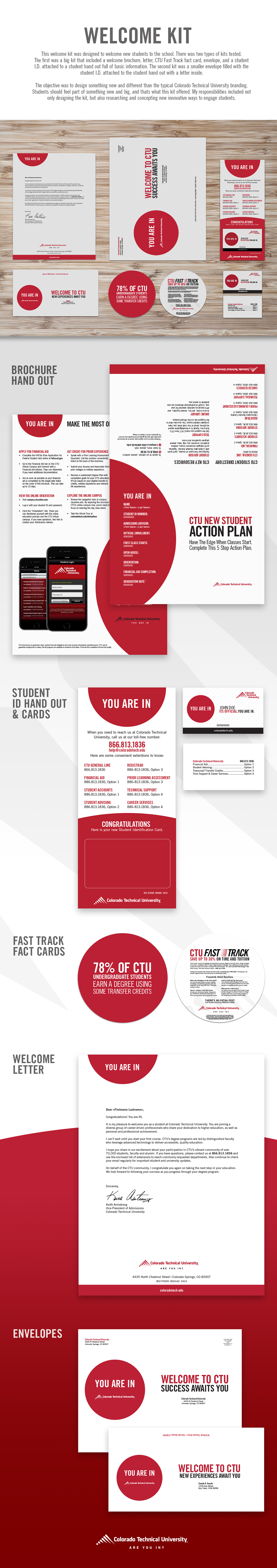 CTU Welcome Kit | Print on Student Show