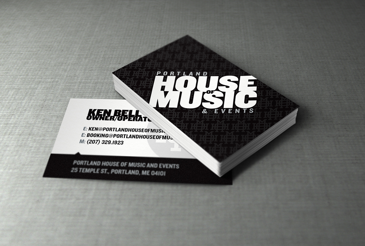 Logo Design,Sign design,word mark,Business Cards,Portland,house of music