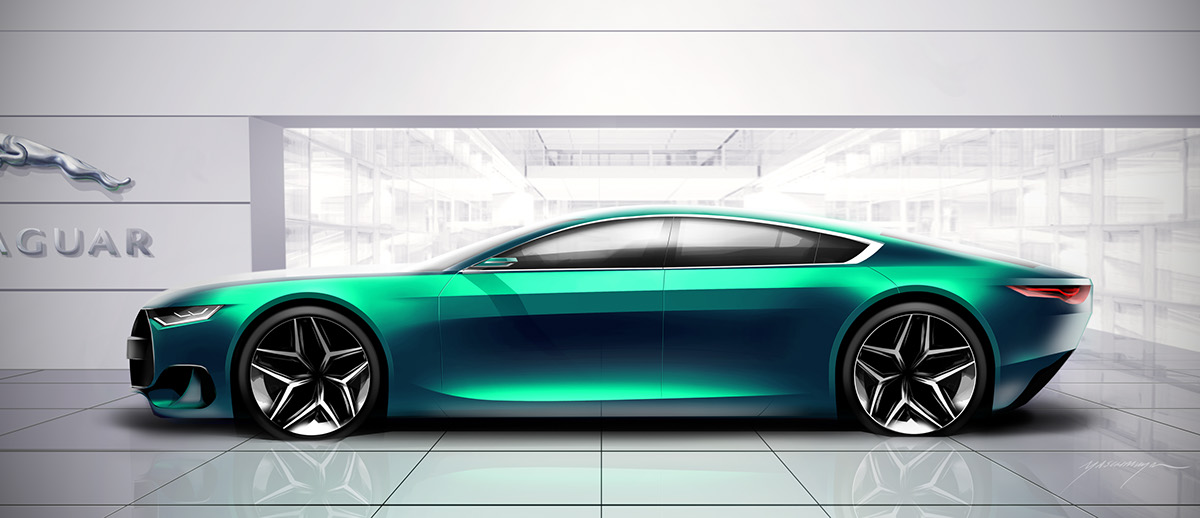 Jaguar Xr Concept On Behance
