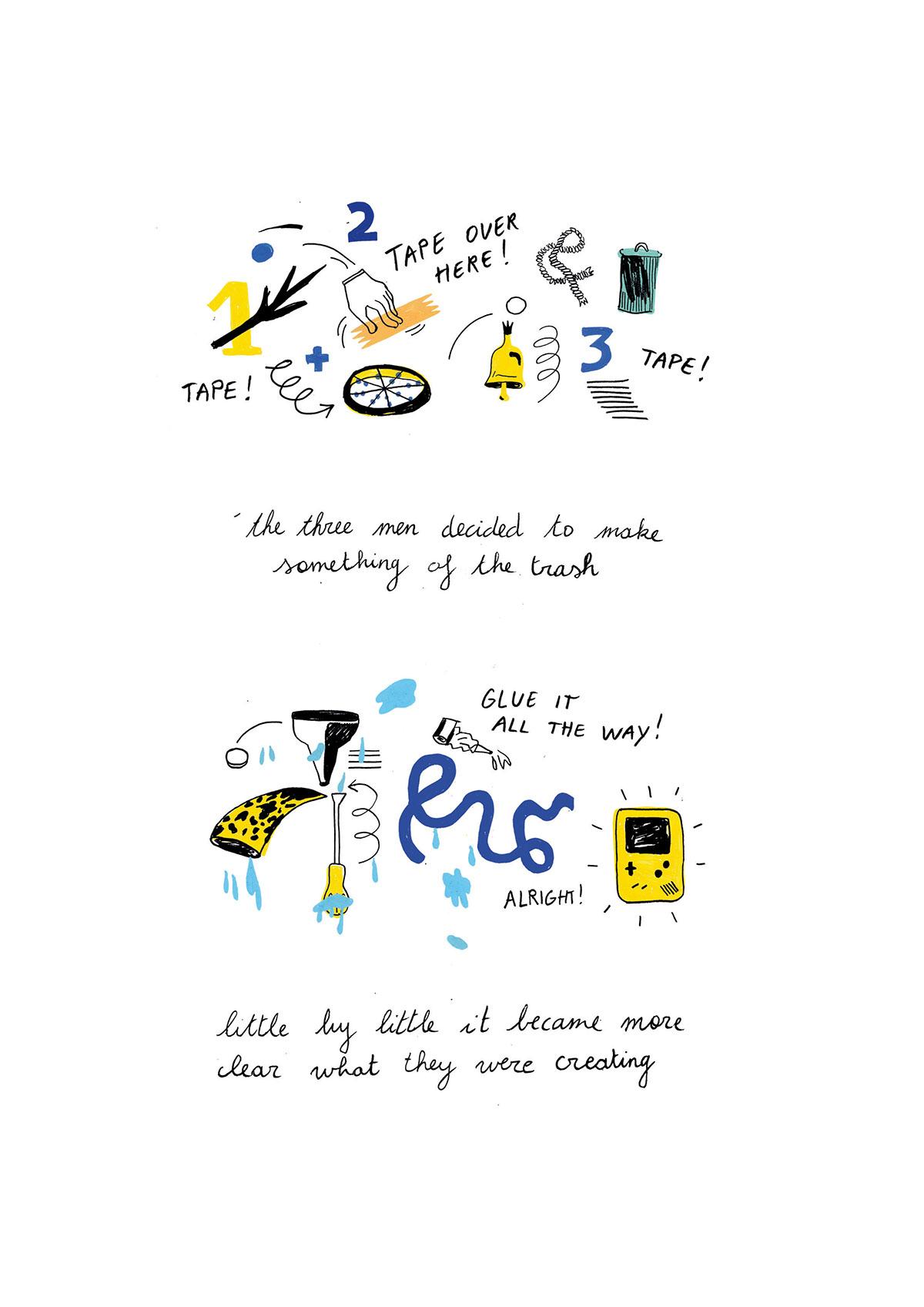 story short Graphic Novel future comic