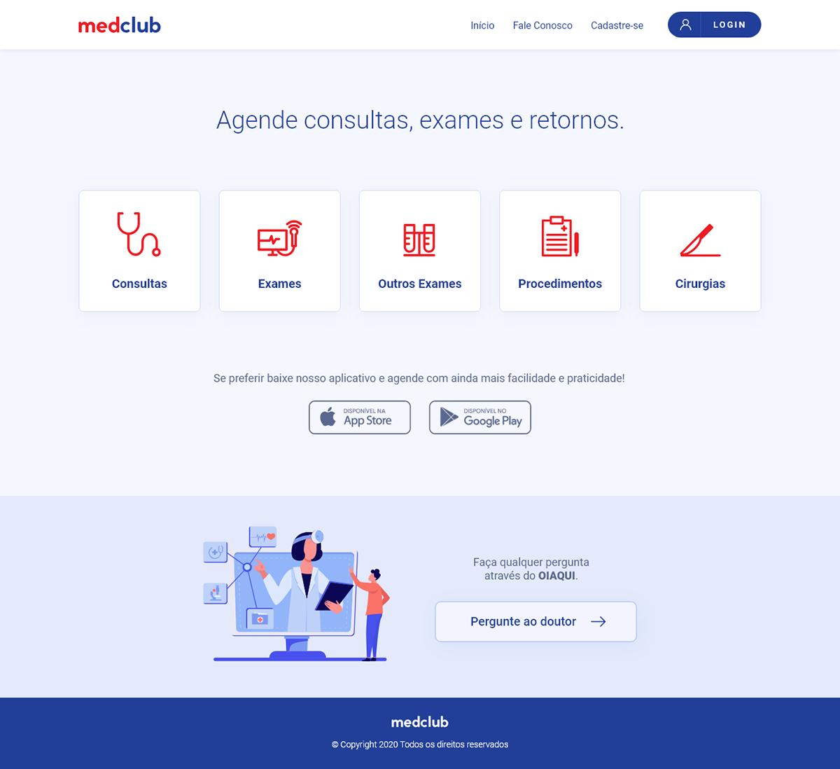 Health uidesign uxdesign Website