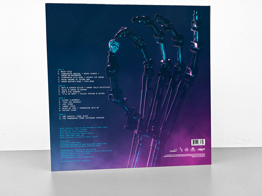The Terminator Soundtrack LP on Behance