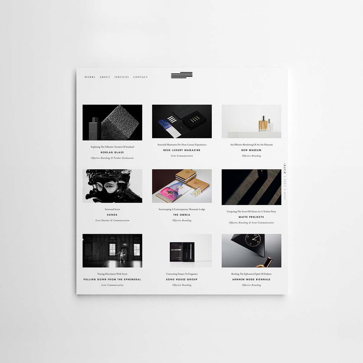 Studio FOLIE Category Page