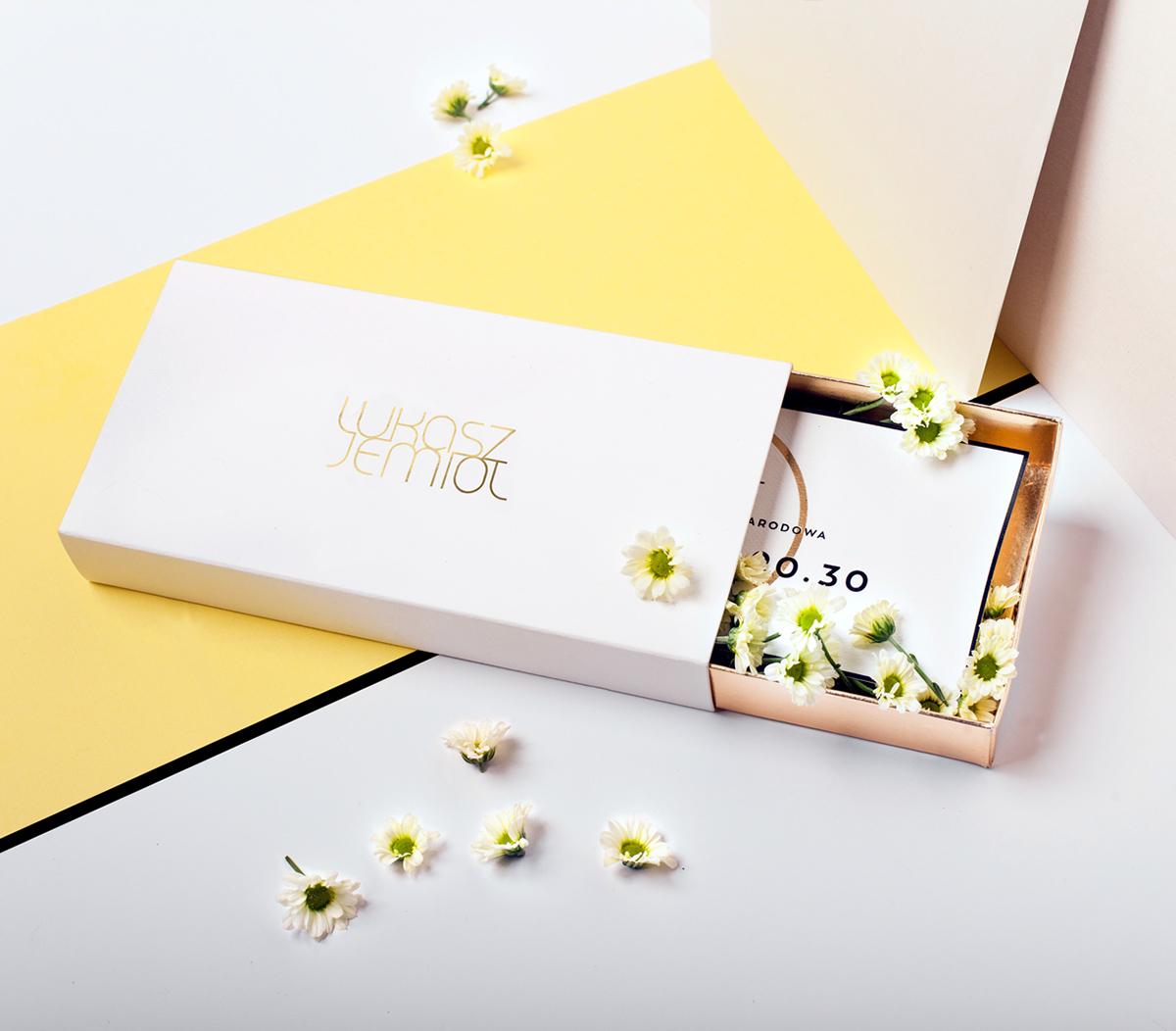 ininvitation invitations gold hotstamping flowerpower hipi