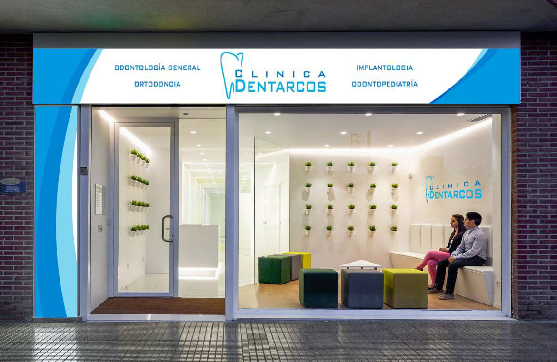 oscar Vallés Gil - Diseño de Rótulo para Clínica Dental en Arcos