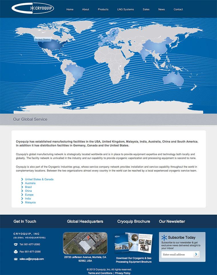 Kraig Kistler - Wordpress Website Cryoquip Inc