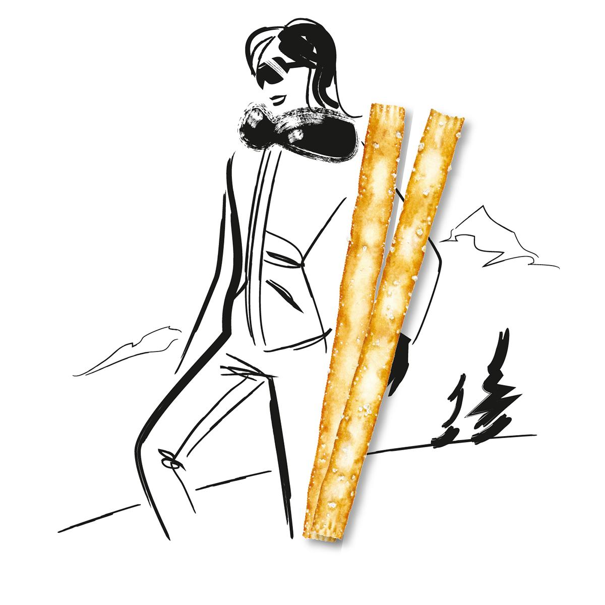 brush Food  Illustrator lifestyle Vectorial vettoriale