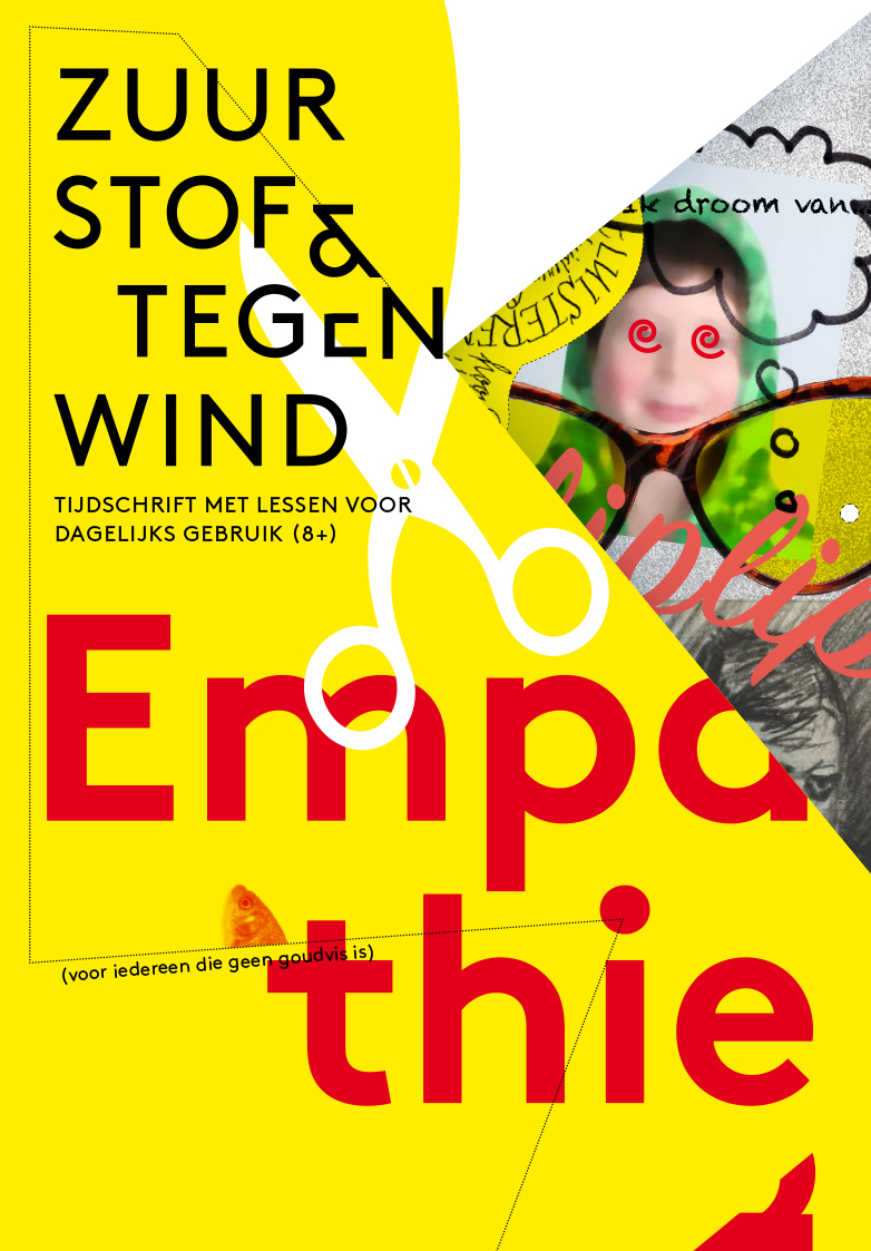 Education magazine empathy paper art
