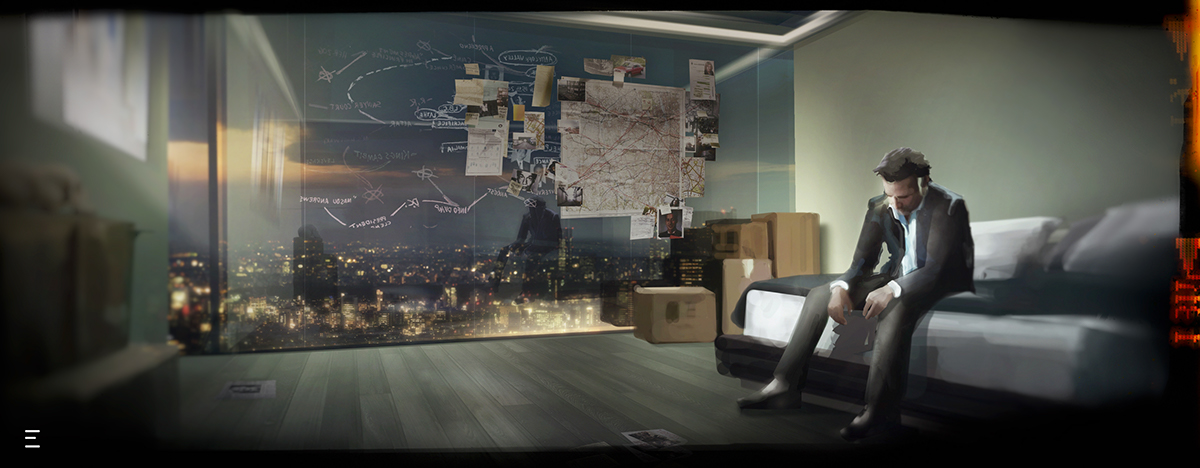 storytelling   adventure mistery mood gaz-station Octobre interactive design