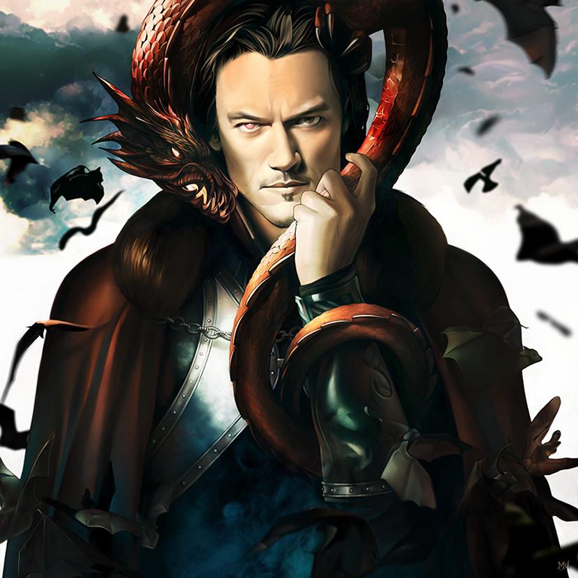 Dracula Untold Fantasy Art