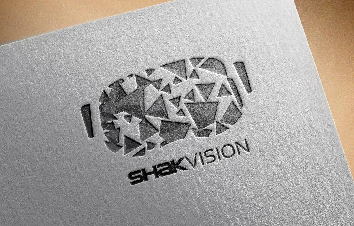 virtual reality logo design on Behance  virtual reality...